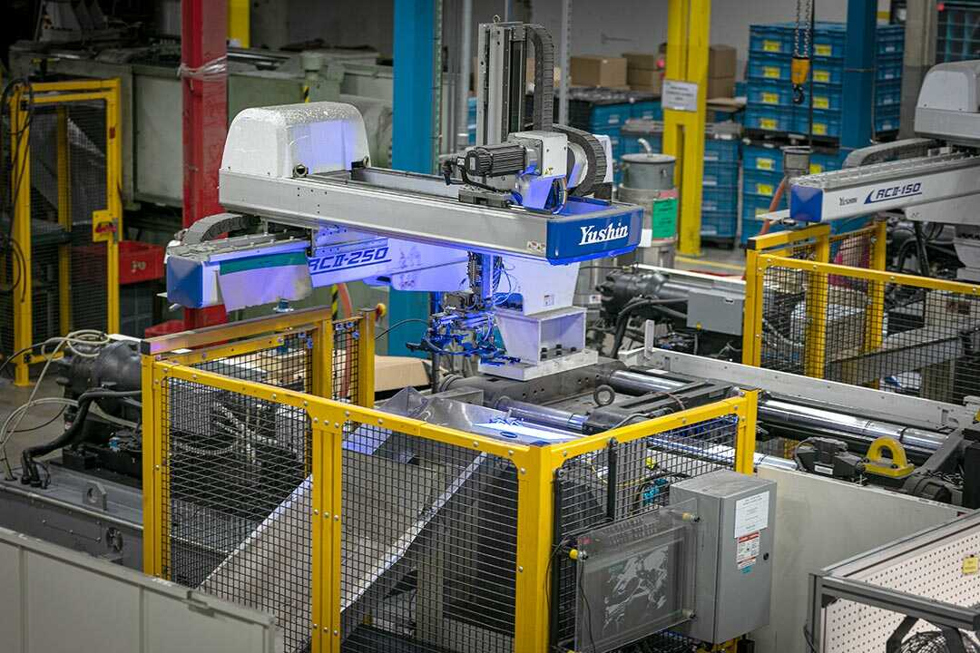Automated visual part inspection.