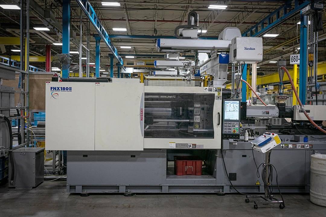 180t Metric press with full servo robot
