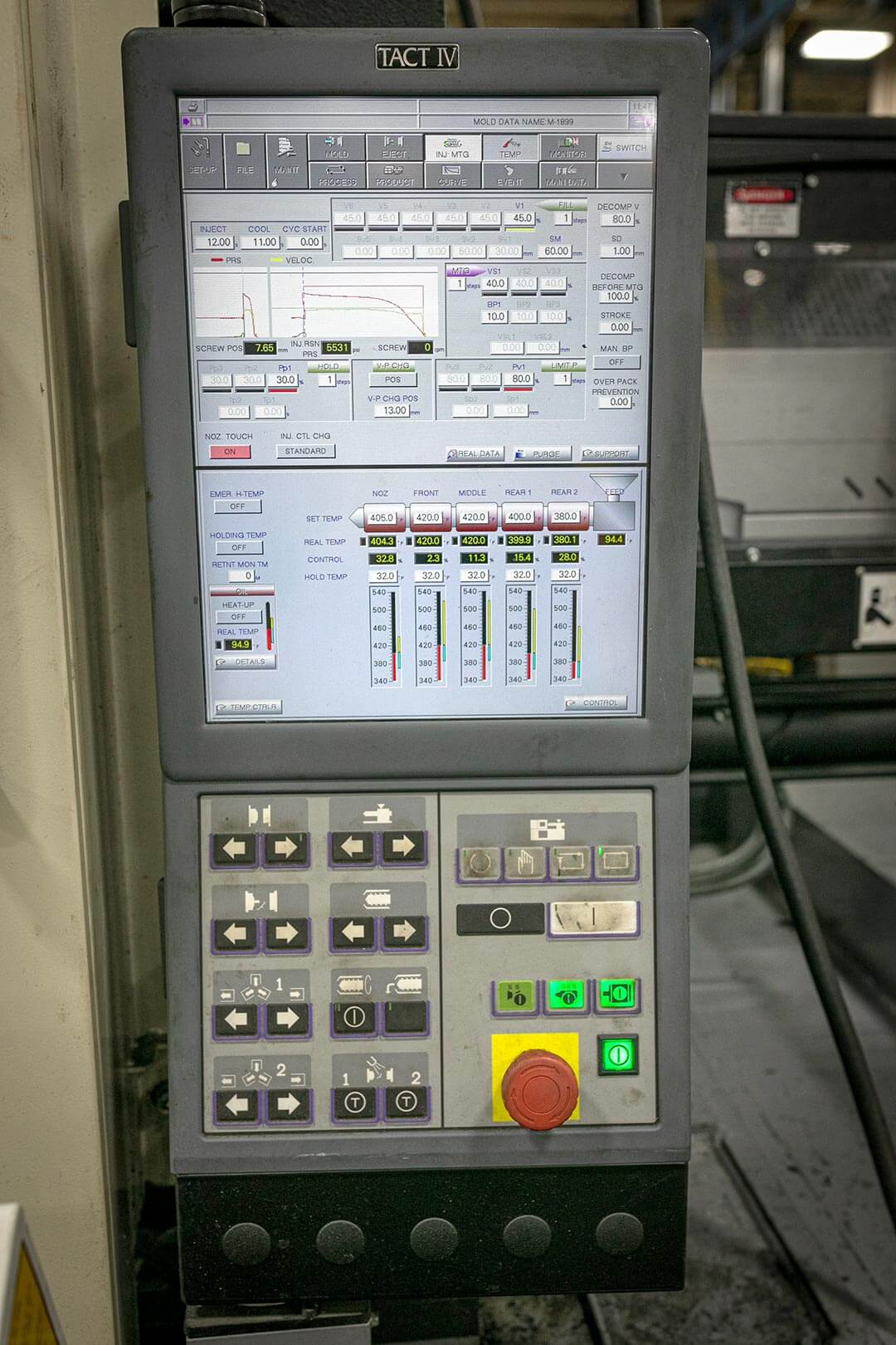 Advanced injection molding machine controllers